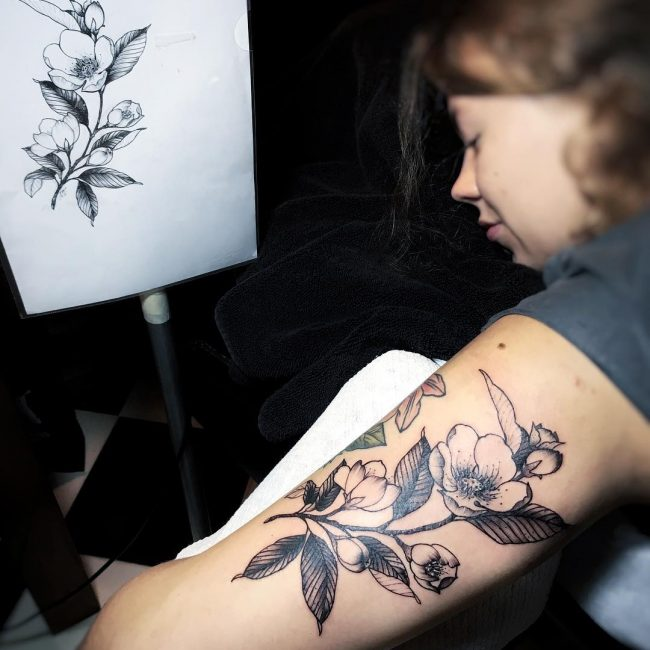 Arm Tattoos For Women_