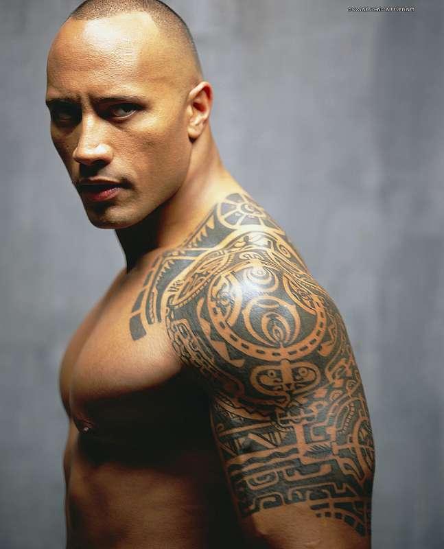 48 крутых татуировок на плечо мужчине