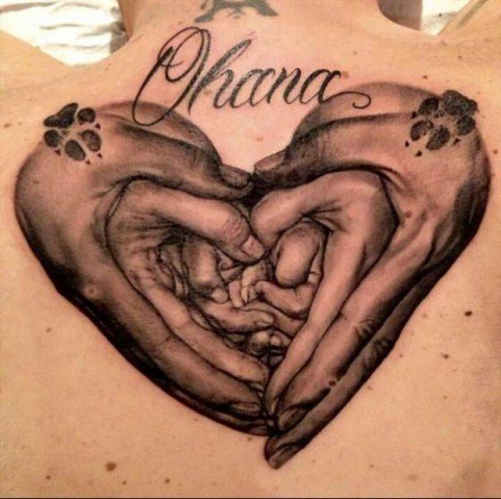 идеи татуировки с изображением рук и сердца